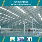 Structure de toit en acier de construction élevée de structure métallique