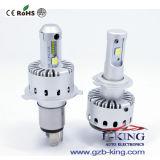 2017 8000lm DIY Plug&Play 차 H4 LED 헤드라이트