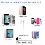 Mfi bestätigte Blitz 8pin zum USB Synchronisierungs-Kabel für Apple