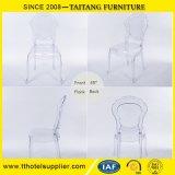 Silla al aire libre del jardín plástico transparente de la silla