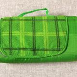 カスタム屋外旅行ピクニック羊毛毛布