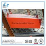 Tipo trasversale separatore magnetico permanente pratico della cinghia per i ferri