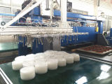 Máquina de estaca automática de alta velocidade do empacotamento plástico de Hg-B60t