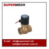 válvula de solenóide de bronze da água do vapor 2L
