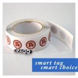 Quatre couleurs de haute qualité de l'impression de papier autocollant NFC en PVC pour la gestion du contrôle d'accès