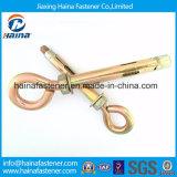 Fornecedor chinês Aço de caixa de melhor preço com parafuso de olho de âncora com zinco
