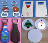 金属のギフトはクリスマスの主札の金属のKeychainのギフトをもてあそぶ