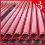 Твиновская труба конкретного насоса стены для конкретного устанавливая заграждения или Тележк-Установленного насоса заграждения