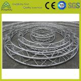 Fardo sextavado de alumínio prateado do círculo