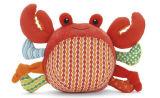 Juguete relleno aduana de la felpa del cangrejo