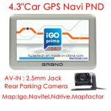 팔 외피 A7 의 주춤함 6.0를 가진 OEM 4.3inch GPS 항법 Pnd 최신 Portablet GPS 항해자; Bluetooth GPS 시스템, 후방 주차 사진기, 유럽 지도를 위한 8GB 섬광