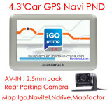 アーム皮質A7のひるみ6.0を搭載する金属ハウジング4.3inch GPSの運行Pnd新しいPortablet GPSの操縦士; 2016年GPSのマップの内部速度のカメラ、後部駐車カメラの