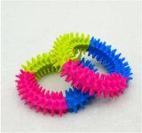 Fabricante de produtos Pet qualificada da China, Bola de arco-íris coloridos de cão, Venda por grosso de brinquedos brinquedos Pet