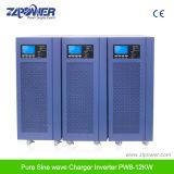 8000W 10000W 12000W 48/72VDC 순수한 사인 파동 태양 잡종 변환장치