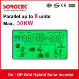 invertitore solare ibrido 4kVA 48V di griglia inserita/disinserita con il regolatore solare della carica di 80A MPPT