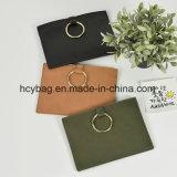 Sacchetto di mano di cuoio popolare della frizione delle 2016 di modo dell'unità di elaborazione borse delle donne Hcy-A908
