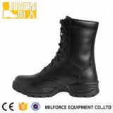 De nieuwe Militaire Laarzen van het Gevecht van de Bereden politie van de Stijl Zwarte