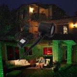 Luz laser del jardín, luz del deslumbramiento para la decoración al aire libre
