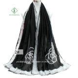 2017 neue Dame Fashion Satin Scarf mit Rose gedrucktem Schal