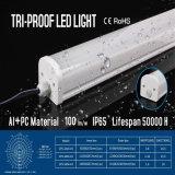 Luz quente da Tri-Prova do diodo emissor de luz IP65 do preço de fábrica 18W 2FT