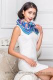 Écharpe estampée par Digitals en soie de la qualité 100% pour des dames