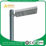 15W IP65 imperméabilisent les réverbères extérieurs solaires avec le certificat de la CE
