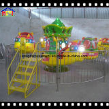 Aereo popolare della foresta dell'elicottero del parco di divertimenti