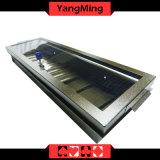 2017 nuevo diseño modificado para requisitos particulares 1 - bandeja de la viruta de póker del metal de la capa con bloquear la cubierta Ym-CT20