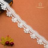 Шнурок оптовой ткани Tulle сети вышивки платья венчания африканский французский