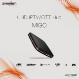 L'inseguitore Android di Ipremium Migo IPTV Ott divide STB 64-bit 1+8g