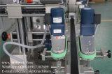 Automatische Seiten-Etikettiermaschine der Aufkleber-Oberseite-Unterseiten-zwei