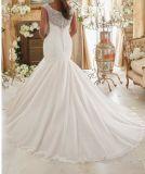 2017 off-Hombro Plus Size Bridal vestidos de novia PLD006