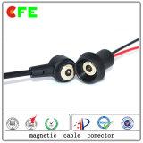 1pin Hight Warterproof actual cable magnético para el láser de la máquina