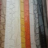Яркая кожа PVC крокодила цвета для украшения стулов мешков