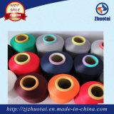 Hilados de polyester teñidos droga del hilado del color de los calcetines para hacer punto