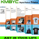 Imprimante imprimée numérique imprimée imprimée sur coton avec encre blanche