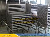 Dn1200X3600 Retort van de Sterilisator van het Water de Roterende (autoclaaf roterende type PLC controle)