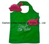 Saco Eco-Friendly da compra Foldable, estilo animal do coelho, sacos de mantimento