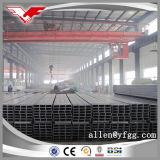 ASTM A500 Gr. B 까만 사각 및 직사각형 건물 강철 관