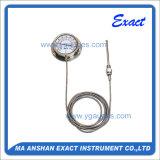 Vaso capillare Termometro-Tutti ss che mettono termometro in una cassa riempito Termometro-Gas