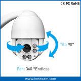 cámara impermeable de la bóveda de la red PTZ del IP IR del zoom de 4MP 4X