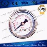 """40mm 1.5 """"ステンレス鋼ハウジングが付いているミニチュア概要の圧力計"""