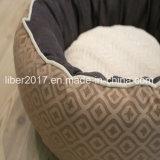 개 고양이 개 침대 소파를 위한 둥근 뒤집을 수 있는 온난한 애완 동물 제품 침대