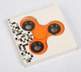 El eje de rodamiento de 3 a 4 minutos de tiempo girando la mano dedo juguete Spinner Spinner Spinner Fidget Anti Estrés Tri