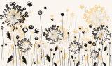 Картина маслом конструкции цветка дешевой конструкции сбываний цен стильной самомоднейшая
