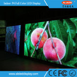 HD SMD P4 Full Color Indoor Rental LED Screen Panel Sign met FCC