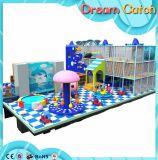 Parco di divertimenti commerciale del campo da giuoco del castello di tema morbido della caramella