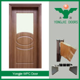 Eco-Friendly impermeable WPC puerta interior