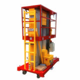 Doppelmast-Aluminiumlegierung-Luftarbeit-Plattform (maximale Höhe 8m)