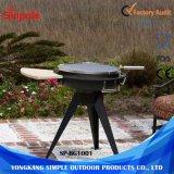 De openlucht BBQ Barbecue van de Houtskool van de Roker van de Grill Draagbare